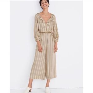 Madewell Striped Cypress Jumpsuit Size S/M